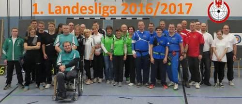 Landesliga 2016/17 - 1 Wettkampftag bei BB08