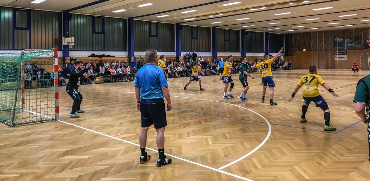 TSG Handballer beenden 1. Halbserie mit Heimspielerfolg